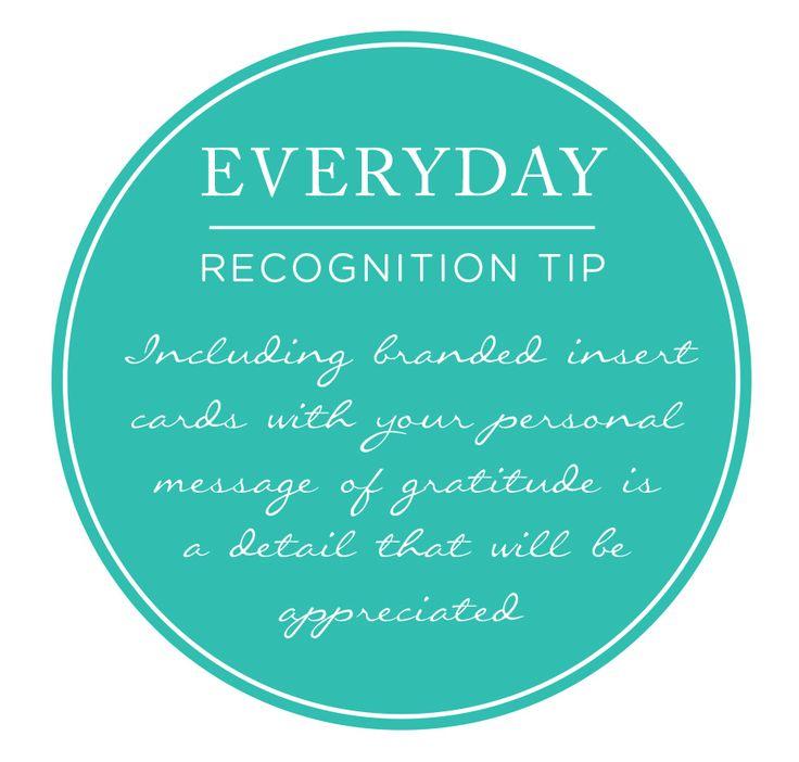 Recognition tip!