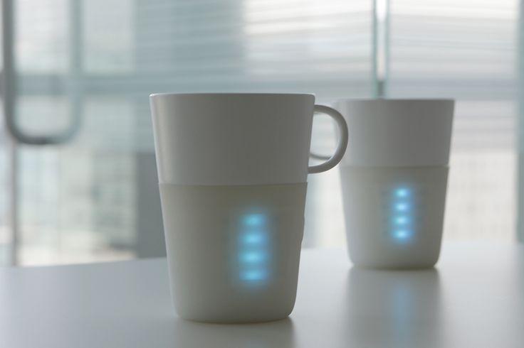 Entacup – Le mug connecté des amoureux  http://www.leblogdomotique.fr/objet-connecte/entacup-mug-connecte-amoureux-1546 #mug #IoT #saintvalentin