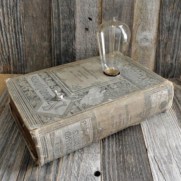 Antique Books Repurposed as Elegant Jewelry Boxes and