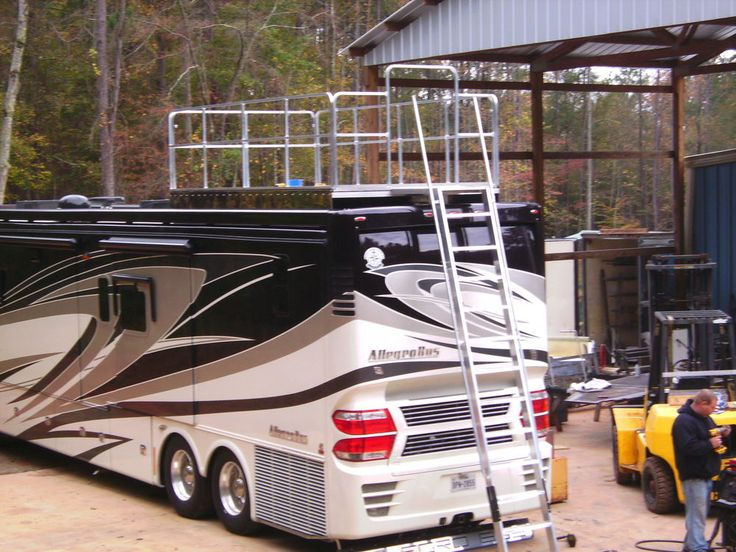 18 Best Rv Roof Deck Images On Pinterest Roof Deck Rv