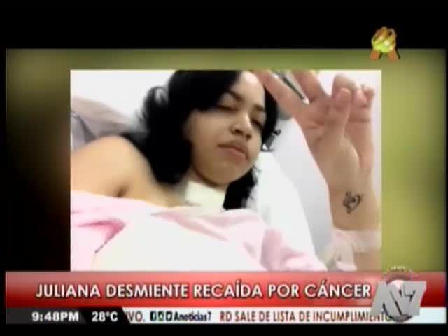 Juliana Desmiente Recaída Por Cáncer Y Termina Su Contrato Con Los Medrano #Video