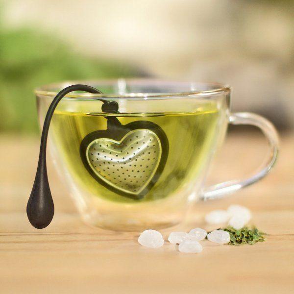 Infuseur à thé en forme de coeur