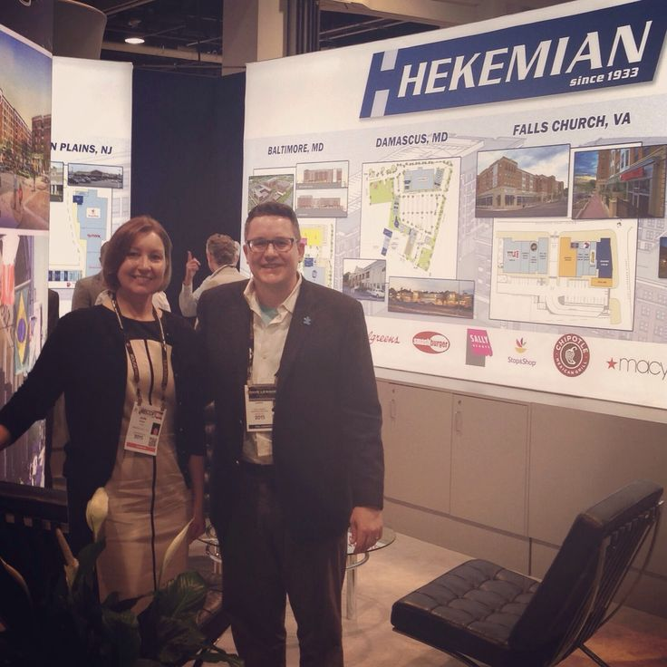 Visiting with creGROW Commercial Real Estate Website Client Julie Schorr of Hekemian & Co. (Hackensack, NJ, http://hekemian.com) at ICSC RECon in Las Vegas.