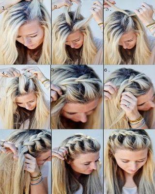 Easy winter hairstyles step by step original