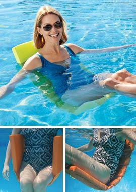 Flip & Float, Pool Lounger, Water Float, Pool Chair | Solutions