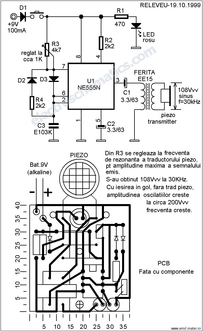61 Best Ght Images On Pinterest Electronic Circuit Electronics Led Chaser Diagram The Dog Repeller Produces A Discomforting But Not Harmful