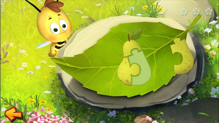 Maya the Bee // Play and learn with the small, sassy, clever bee and her best friends! Different topics – numbers, colors, music, skill and memory – are learnt playfully with lots of fun and humor!
