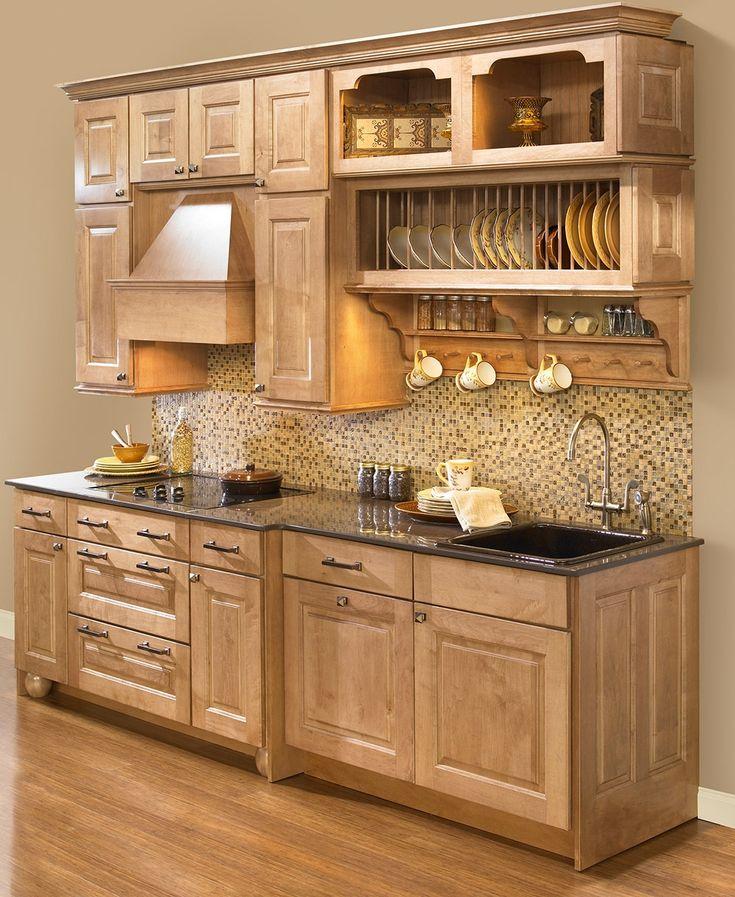 Elegant Kitchen Cabinet Plate Rack