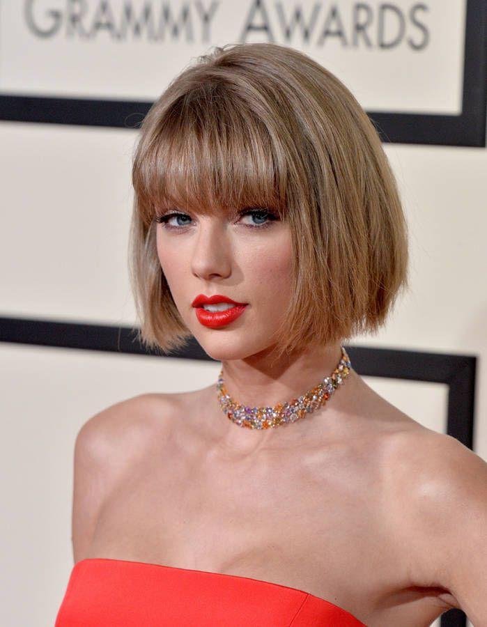 La frange sur le carré de Taylor Swift