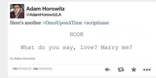 OUAT SCRIPTEASE GUYS CAPTAIN SWAN MARRIAGE!!!!!!!!!!!!! AHSHNEHSJABUSIDUSGAGHSHSJWGKvgahagaj IS THIS THE REAL LIFE?!?!!?