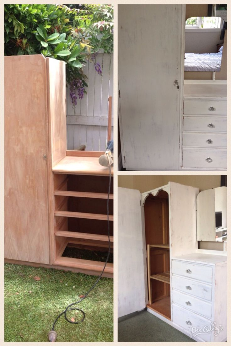 wardrobe, from the side of someones curb, saved to live another life!