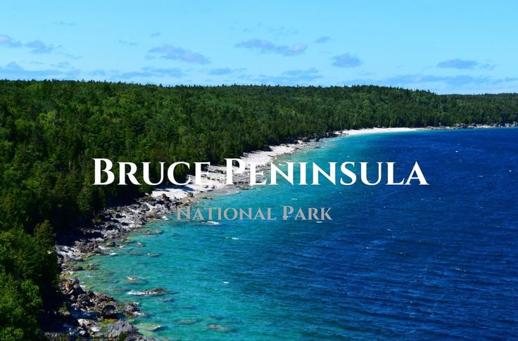 Bruce Peninsula - Stormhaven campground and hiking - 2 days