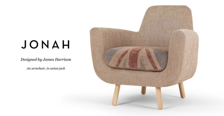 Jonah Armchair in union jack | made.com