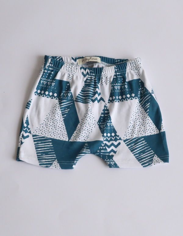 Geo Print Shorts. $32.95. Organic Cotton, Unisex, Ethical & 100% made in Melbourne with love.