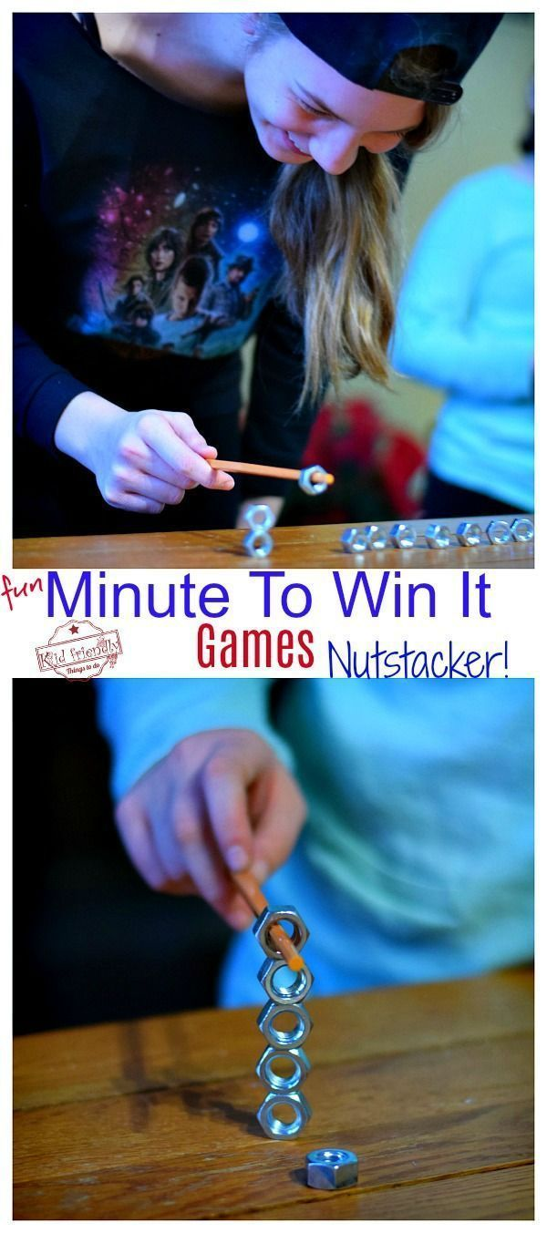 Fun and Easy Minute To Win It Party Games to Play with the Family