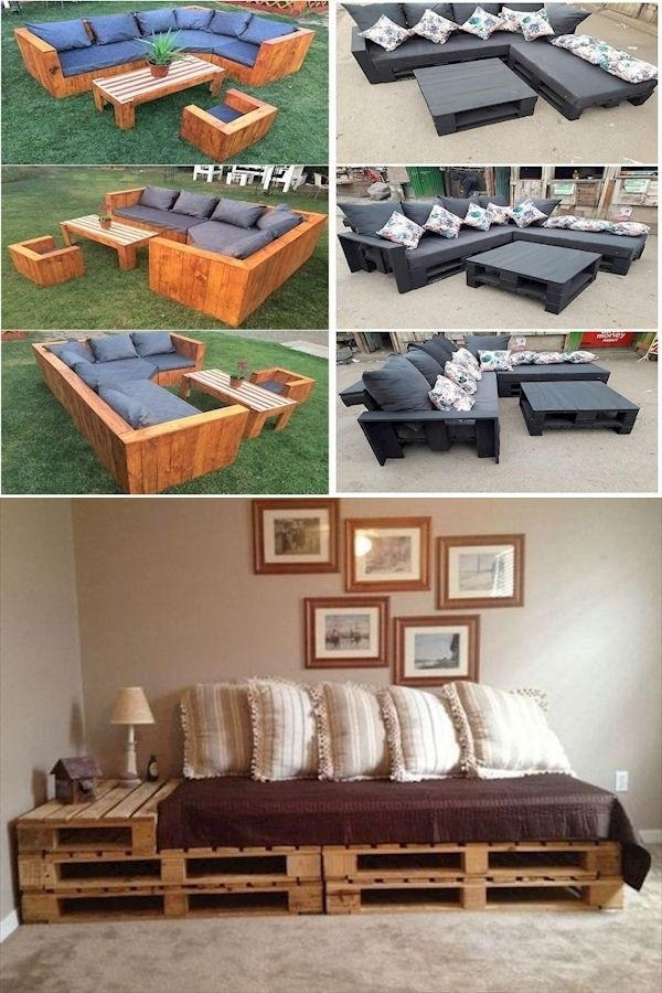 Pallet Furniture Blueprints Air Pallet How To Make Patio