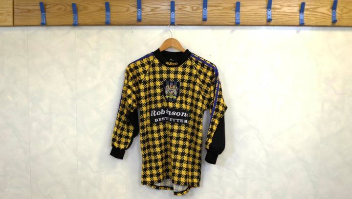 Stockport County Classic Football Shirts x Ross Cooke