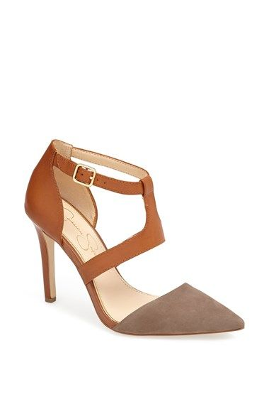 two-tone heels {under $100}