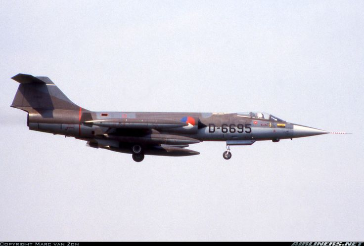 Royal Netherlands Air Force (RNLAF) Lockheed (Fiat) F-104G Starfighter D-6695 (cn 683-6695) unit: 312 squ