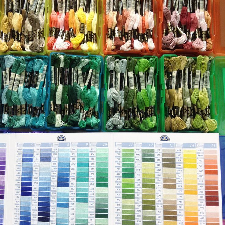 Unique embroidery floss storage ideas on pinterest