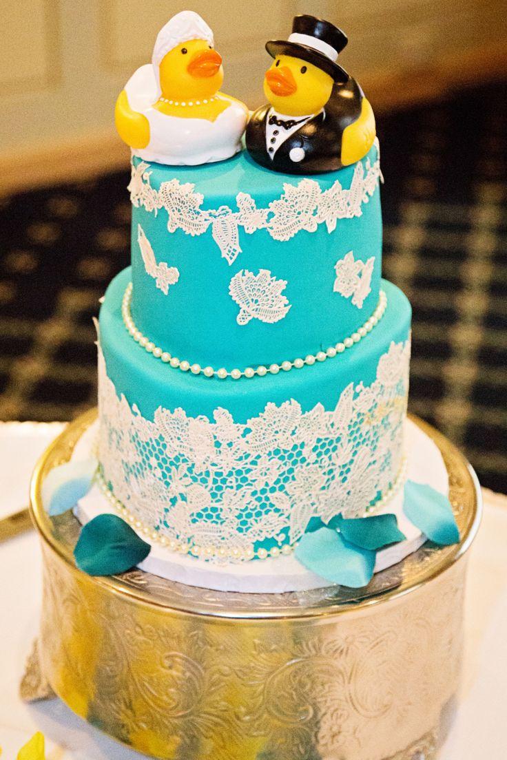 Rubber Ducky Wedding Cake ©Alicia Robichaud Photography www.arfoto.ca Cake by Piece O'Cake Creations, Saint John NB