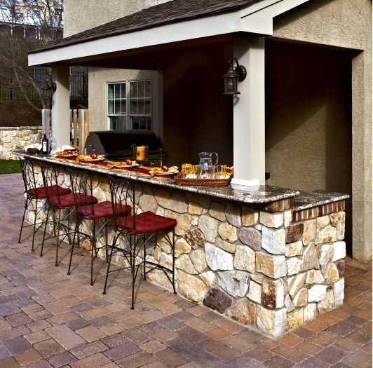 9 Outdoor Patio Kitchens For Party Perfect Entertaining: 1000+ Images About Outdoor Bars & Kitchens On Pinterest