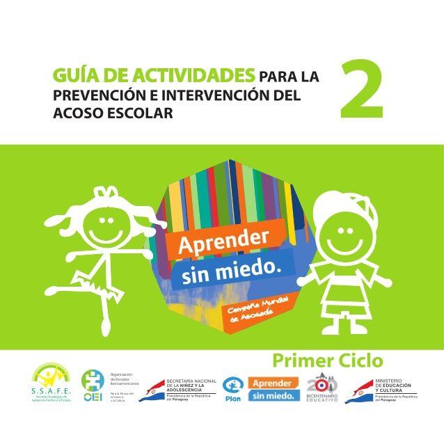 Guía de actividades para la prevención e intervención del acoso escolar 1º ciclo