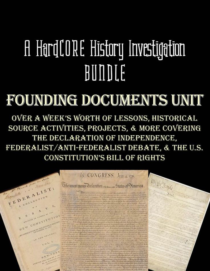 founding documents essay View this essay on founding documents american democracy determine democratic concepts the idea of democracy has experienced much change during recent decades.