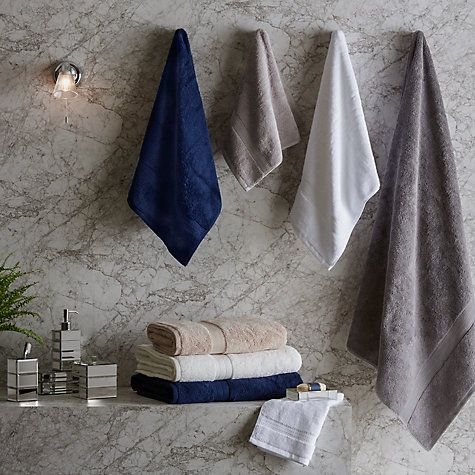 Silky soft and long lasting, this is the ultimate luxury towel, thanks to the unique fusion of technology and nature used in manufacture.