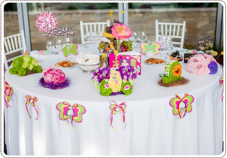 Baby Girl Christening Party Theme by Simply Happy - Butterfly