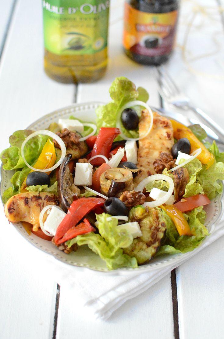 Salade méditerranéenne  #recette #salade