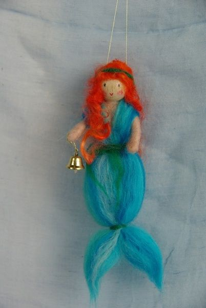 kleine Meerjungfrau von Die Wichtelwerkstatt auf DaWanda.com
