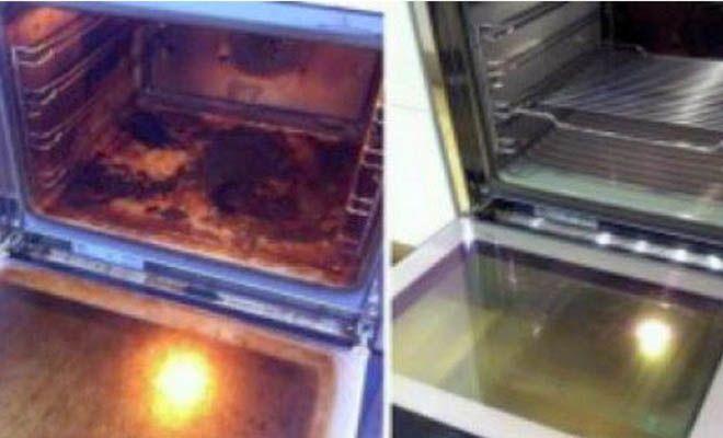 Το ήξερες; Έτσι θα κάνεις ολοκαίνουργιο τον φούρνο της κουζίνας σου…