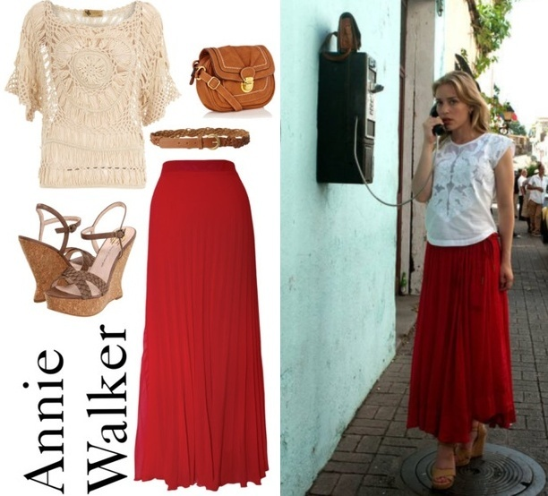 Annie Walker Travel - Fashion From Covert Affairs - All Yours Styling