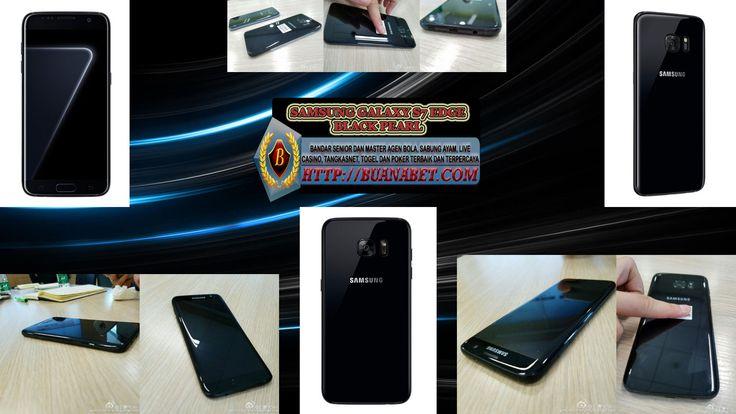 Samsung Galaxy S7 Edge Pearl Black Hadir Lusa!