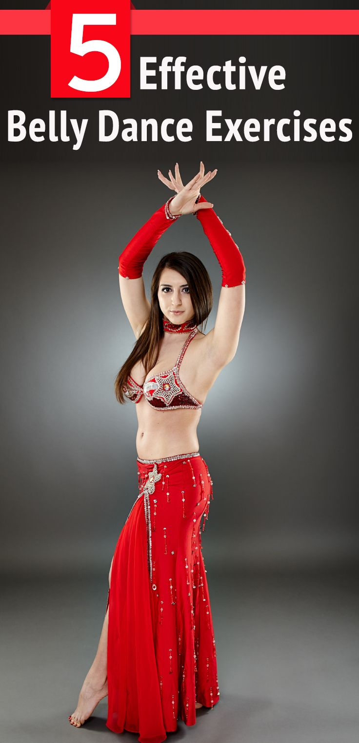 5 Effective Belly Dance Exercises To Try Out Today