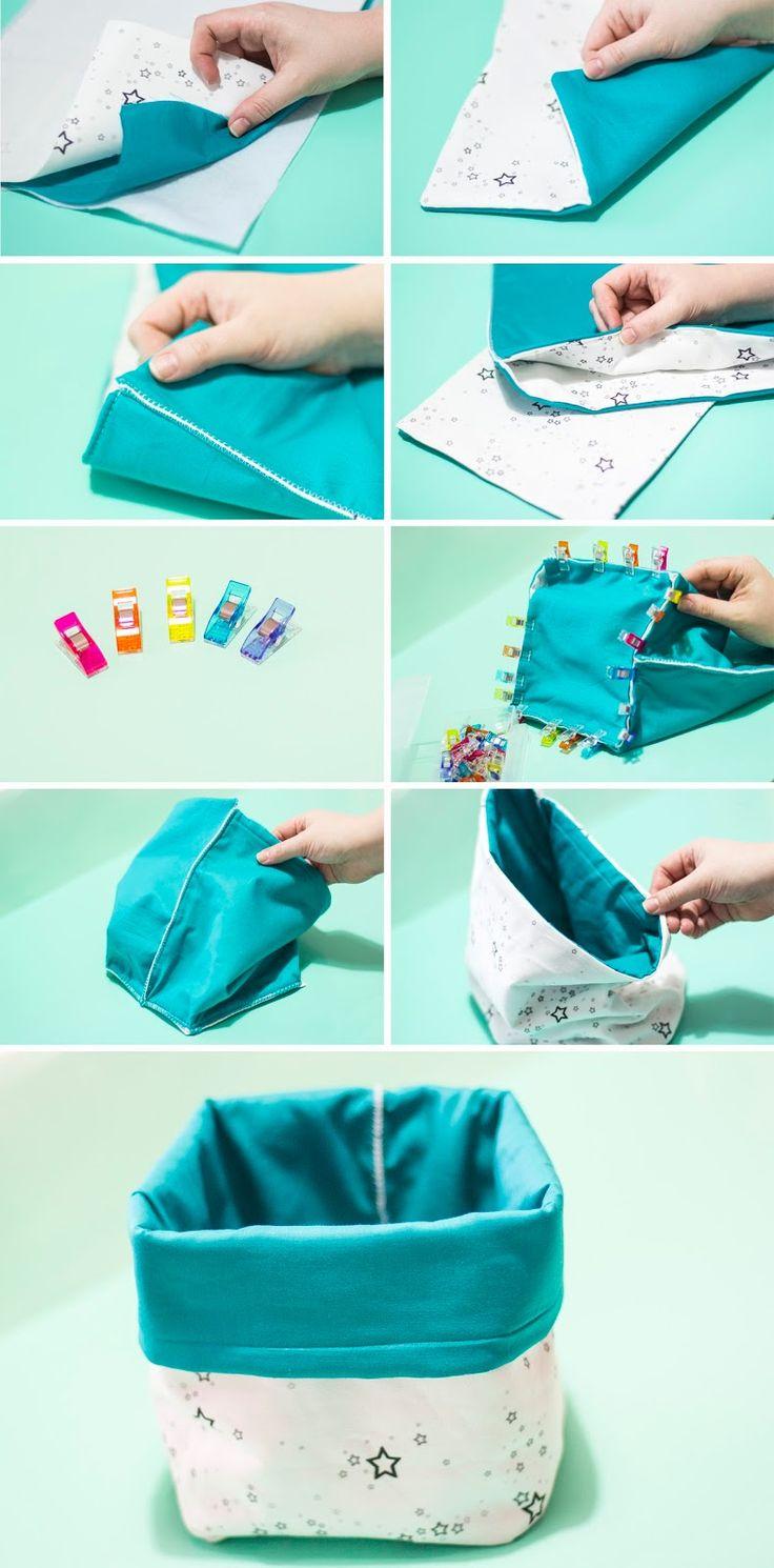 Live it . Love it . Make it.: Make it: Fabric Storage Bin with Zazzle