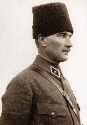 1916 - 1922 yılları arası Atatürk fotoğraflarından
