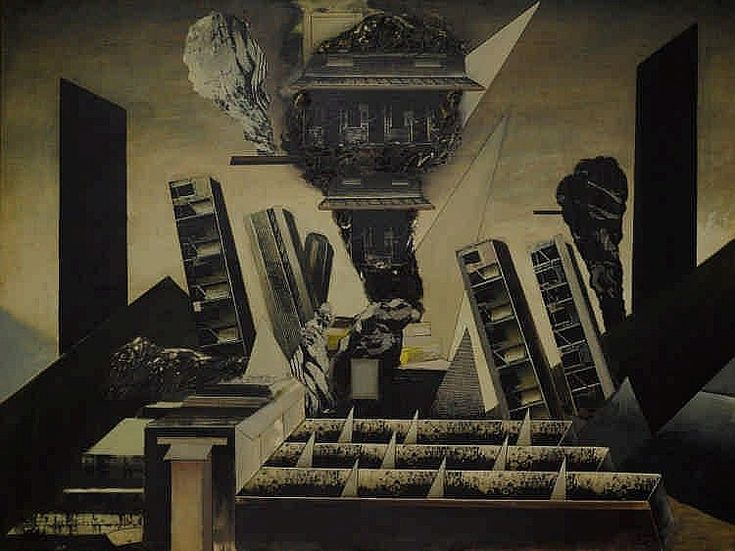 Jan Senbergs (b. 1939) Valley, 1973