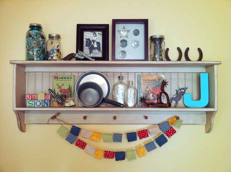 Vintage Cowboy Kid's Room