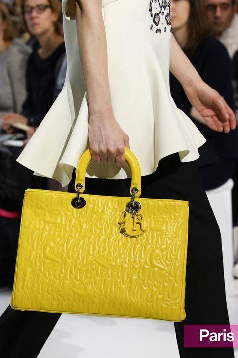 Kabelka Dior z kolekce podzim/zima 2014/15