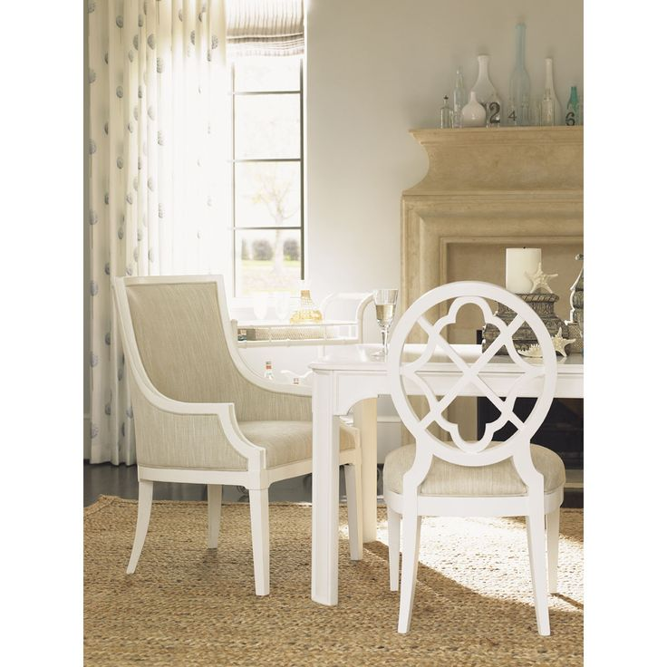 Lexington Ivory Key Gibbs Hill Host Dining Chair Set Of 2 543 885 01