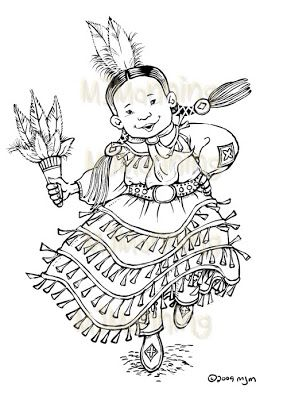 jingle dress Colouring Pages