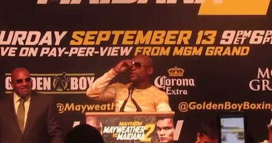 Video: Floyd Mayweather Says He Slept With T.I.'s Wife Tiny