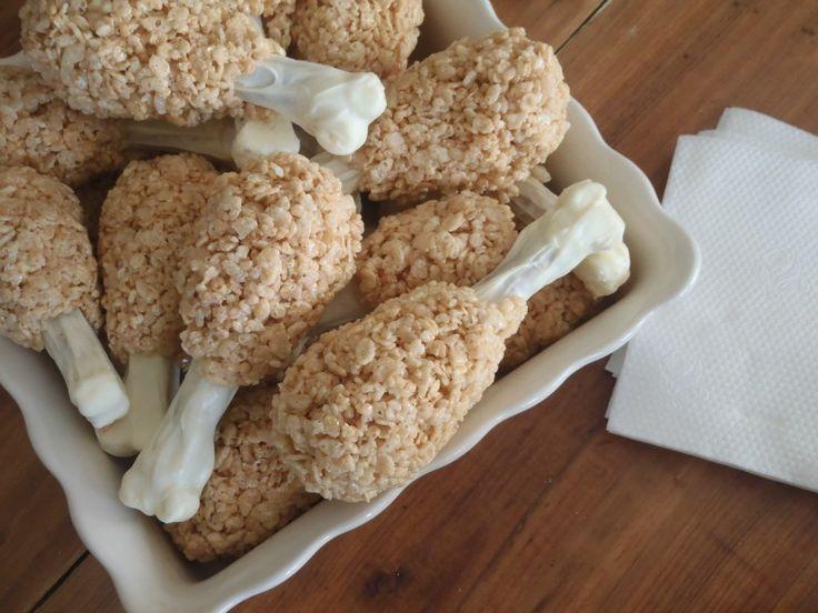 The Chick n' Coop: Turkey Leg Rice Krispie Treats