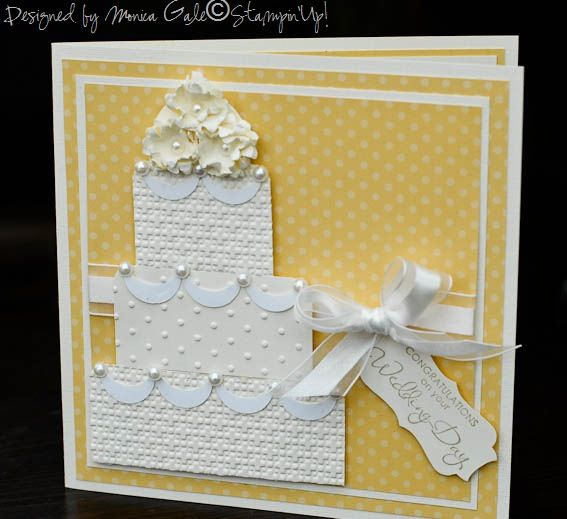 Quick And Very Easy To Make Wedding Card By Passionflower