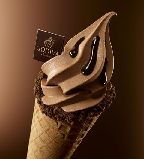 Godiva Ice Cream, Absolutely Divine !!