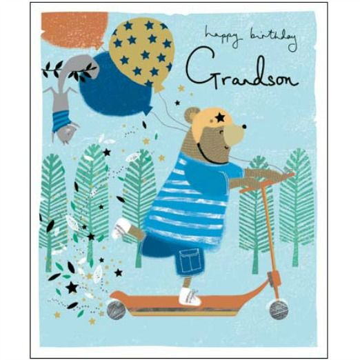 Best 25+ Grandson Birthday Cards Ideas On Pinterest