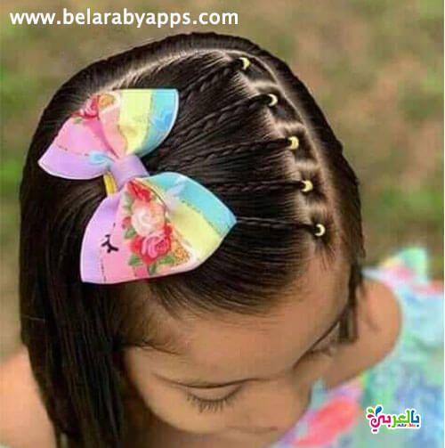 تسريحات شعر بنات جديدة للمدرسة Little Girl Haircuts Toddler Hairstyles Girl Lil Girl Hairstyles