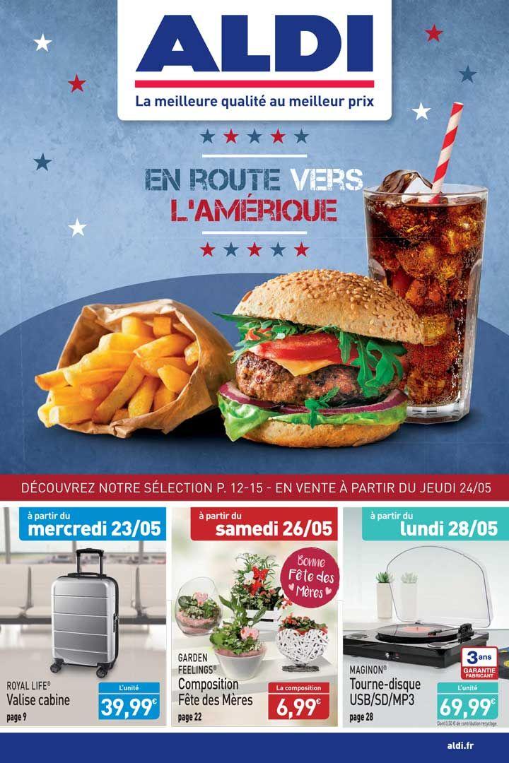 Catalogue Aldi Du 24 Au 30 Mai 2018 Feuillete Bonne Fete Des Meres Tourne Disque
